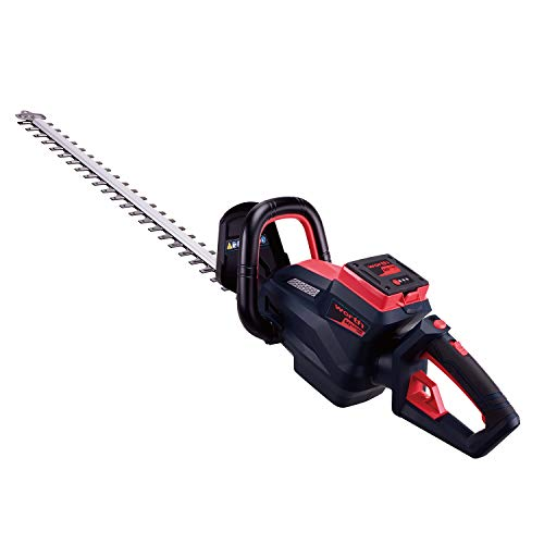 Check Out This Worth Powerful 84 V Wireless Hedge Trimmer Brushless Motor with Rotating Handle and D...