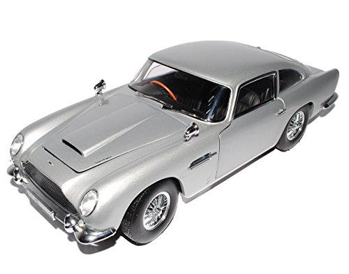 Sun Star Aston Martin DB5 Coupe Silber James Bond Goldfinger 1963-1965 1/18 Modell Auto