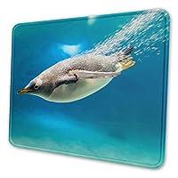 マウスパッド ペンギン 20 X 24cm 滑り止め 防水 おしゃれ 洗える ビジネス用 家庭用 ゲーム用