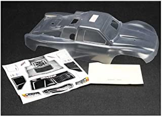 Traxxas 5912 Clear Slayer Pro 4x4 Body with Decal Sheet