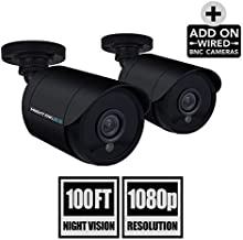 Night Owl Security 2 Pack Add-On 1080P Wired Bullet...