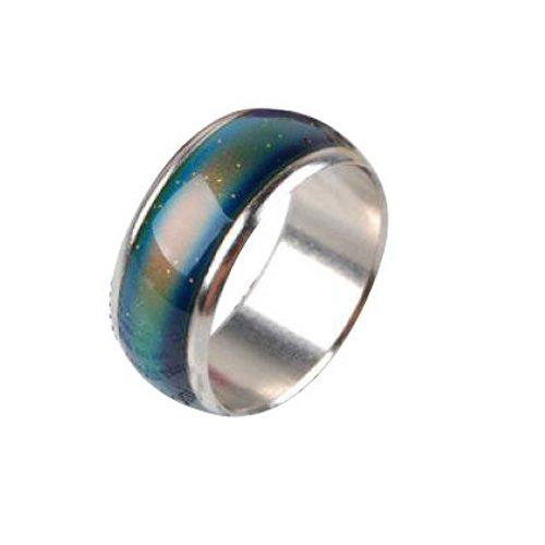 Gleader Emocion sentimiento animo color cambiante de la aleacion del anillo de tamano del reino unido : j 1/2