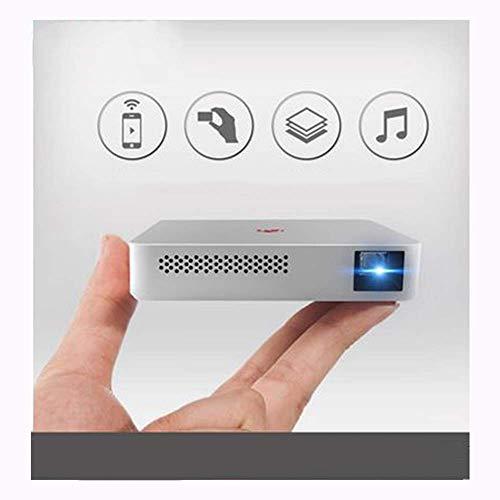 Mobiele telefoon projector WLAN hetzelfde beeldscherm ingebouwde batterij batterij 1900mAh mobiele zaak projectie miniatuur home hotel bioscoop