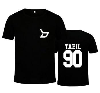 Block B New Album T-Shirt Zico Taeil B-Bomb U-Kwon Jaehyo Tee Shirt