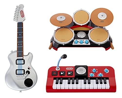 little tikes My Real Jam Mi Primer Set para conciertos, Guitarra eléctrica,...