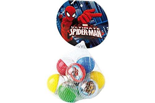 Dulcop - Palline Plastica Dulcop-Biglie Spiderman, 9 palline