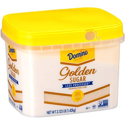 Domino Golden Granulated Sugar, 3.125 LB Easy Baking Tub