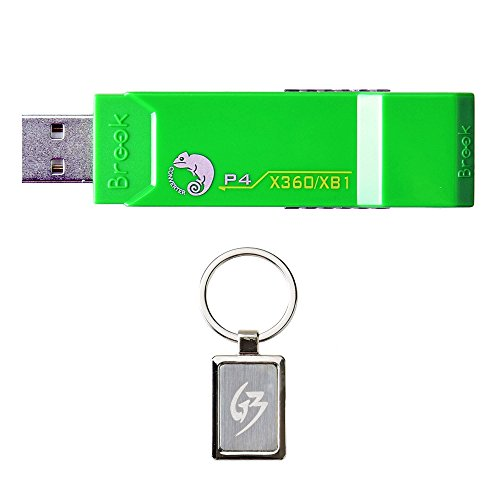 Gam3Gear Brook XBox 360 / Xbox ONE to PS4 Super Converter Controller Gaming Adapter with FREE Keychain