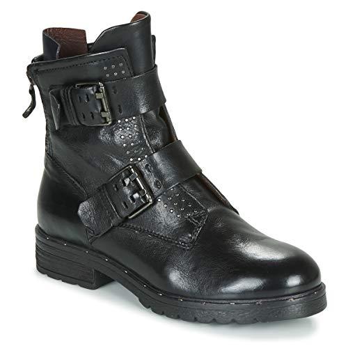 MJUS PEPES-PEPERITAS Enkellaarzen/Low boots dames Zwart Laarzen