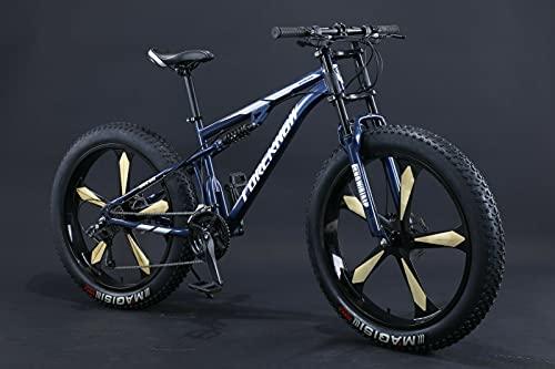 Fat Bike 24' 26' VTT à suspension complète avec...