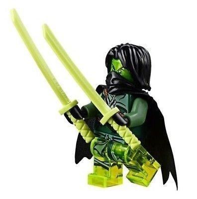 LEGO Morro Ninjago Minifigur Exklusive zu 70738 mit Kap und Schwerter
