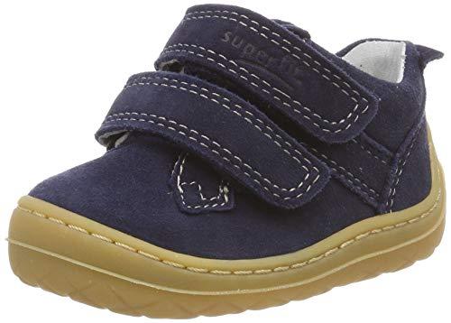 Superfit Baby Jungen SATURNUS Sneaker, Blau (Blau 80), 18 EU