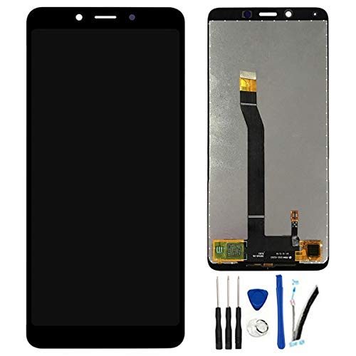 SOMEFUN Pantalla LCD Repuestos Compatible con Xiaomi Redmi 6 / Redmi 6A LCD Pantalla Táctil Digitalizador Asamblea de Vidrio (Negro)