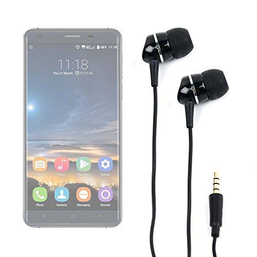 DURAGADGET Auriculares para Smatphone Hisense C30 Rock Lite/Onix S405 / Onix S551 / Oukitel K3 / SORAKA Z8 / VKWorld Mix Plus - ¡Elegantes