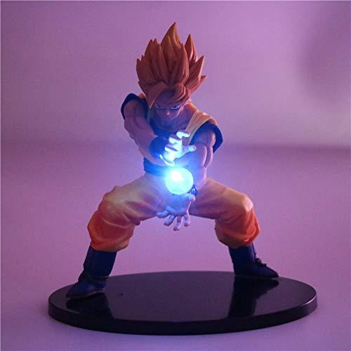 Dragon Ball Z Goku Super Saiyajin Nachtlicht Action Figure Led Licht Dragon Ball Z Figur Modell Tischlampe Spielzeug Son Goku, 2