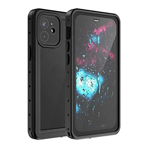 YANGLY Funda protectora antiarañazos, transparente para iPhone 12 Pro Max 11 Pro Max, a prueba de golpes, para buceo, ajuste para iPhone X XS 7 8 12 Mini Cover Case Coque