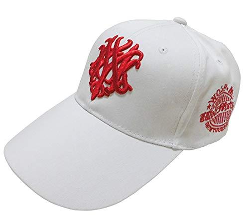【セット】帽子 コットンキャップ 特大 大きいサイズ 白 ホワイト 63�p 64�p 65�p 66�p 67�p XXL/SA899 (XXL(約63〜67cm)) (XXL, A5)