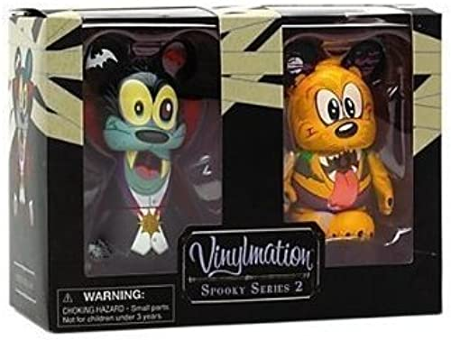 Goofy and Pluto Vinylmation 3 Spooky Series 2 Figures by Goofy