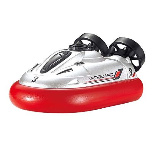 JIU SI RC Boats Mini 2.4G Hovercraft inalámbrico Control Remoto eléctrico Bote...