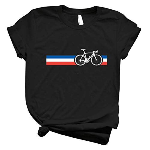 Bike Stripes French National Road Race 47 - Unisex Shirt Men's Shirt Best Vintage Tee for Women Customize