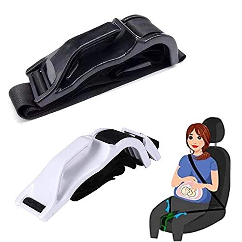 Cinturón de seguridad seguro para mujeres embarazadas, gancho para cinturón de seguridad para embarazadas, ajustador de cinturón de seguridad para mujeres embarazadas (D)