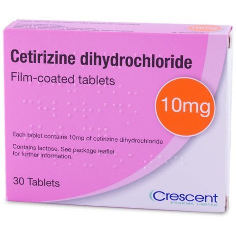 240 x 10mg Cetirizine Dihydrochloride (8 Months Supply) One a Day hay Fever and Allergy Relief Tablets (8x30 Tablets)