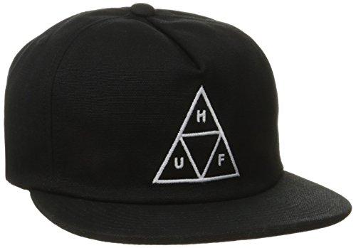 Huf Triple Triangle Snapback Black