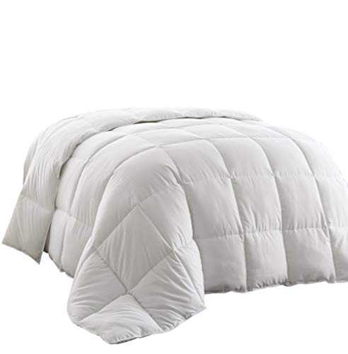 Chezmoi Collection, All Season Down Alternative, Comforter Duvet Insert, King, White
