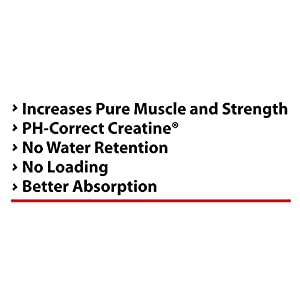 Pure Nutrition KRE ALKALYN PH Correct Buffered Creatine 1500 mg 120 Capsules 60 Servings Increases Strength Performance Muscle Build Pre Workout Supplement No Water Retention No Loading 100% Stable