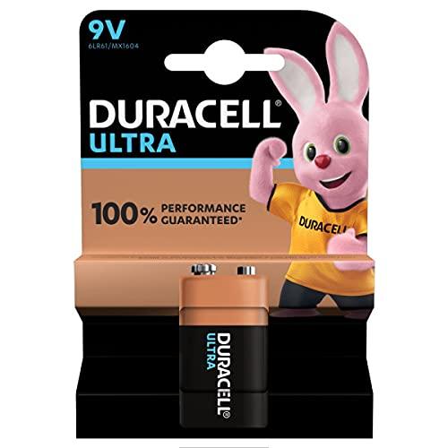 Duracell Batteria 9V, Confezione da 1
