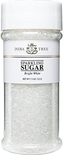India Tree Bright White Sparkling Sugar, 7.5 oz (Pack of 3)