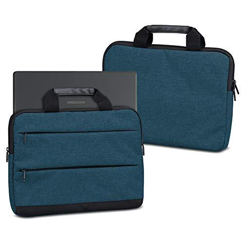 UC-Express Laptophülle Schutzhülle für Medion Akoya E3222 E3223 Sleeve Tasche Notebooktasche Schutzcase, Farbe:Blau
