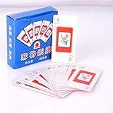 Redcolourful Tragbare Mahjong-Spielkarte, leise, hohe Festigkeit, für Spielzeug, Geschenke -