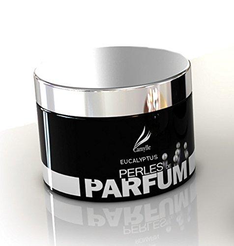 Camylle - Perles de Parfum Eucalyptus - Un Concept Révolutionnaire de Diffusion de Fragrances - Respiratoire aux arômes frais et pénétrants - 150g