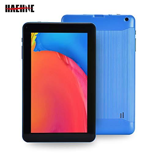 "Haehne 9"" Tablet, Google Android 6.0 Quad Core 1.3GHz, 1GB RAM 16GB ROM, Cámaras Duales, WiFi, Bluetooth, Azul"