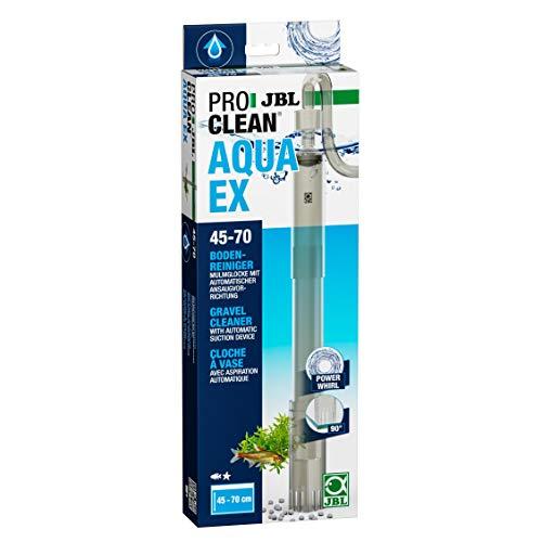 JBL PROCLEAN AQUA EX 45-70, 6142800, Nettoyeur de fond, pour Aquariums de 45 - 70 cm de hauteur, Mulmglocke