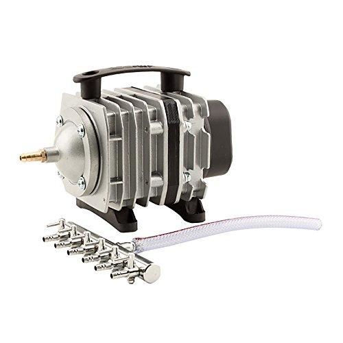 EcoPlus 1030 GPH (3900 LPH, 35W) Commercial Air Pump w/ 6 Valves | Aquarium, Fish Tank, Fountain, Pond, Hydroponics