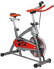 Skyland Indoor Spin Bike - EM-1544, Red