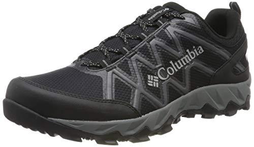Columbia Herren PEAKFREAK X2 Wanderschuh, Schwarz (Black, Ti Grey Steel 010), 44.5 EU