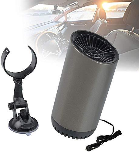 Tiyabdl Mini Car Fan Heater Defogger Mit Halterung,2-Fach Einstellbar,Zigarettenanzünderstecker, Winter Für Die Raumheizung