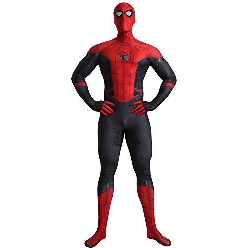 N/A Homecoming Spiderman Disfraces - Zentai para Hombres, Mujeres, niños, Unisex - Traje de Disfraces Navidad Halloween (Adulto m)