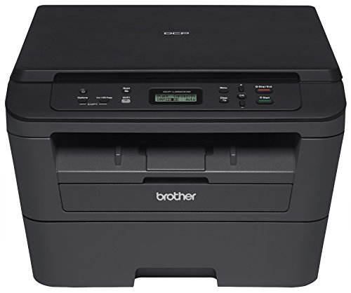 Brother DCPL2520DW Wireless Compact Multifunction Laser Printer and Copier, Amazon Dash Replenishment Ready (Renewed)