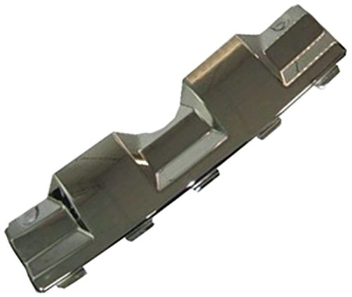 Equal Quality P3155 Tapón Enganche de Remolque Para Parachoques Delantero Inferior, Cromado