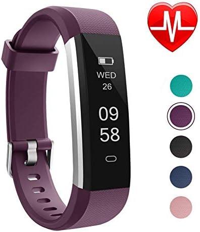 LETSCOM Unisex Adult Fitness Tracker Slim Activity Tracker Smart Pedometer Watch Sleep Monitor product image