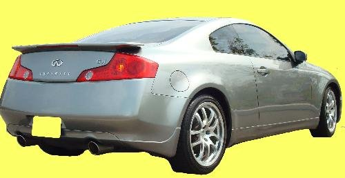 Infiniti G35 Spoiler 03-05 Coupe Factory Rear Wing Unpainted Primer