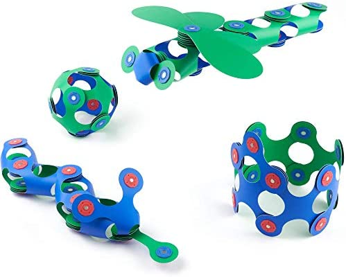 Clixo Itsy 18 Piece Pack The Flexible Durable Imagination Boosting Magnetic Building Toy Modern product image