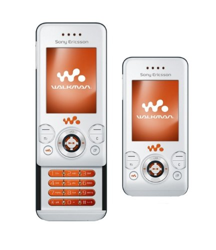 Sony Ericsson W580i Style White Handy ohne Branding