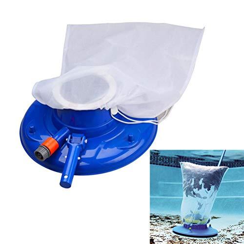 Lespar Staubsauger-Schwimmbad Nützlicher Saugkopf mit schneller Reinigung, Bürsten und Schwenkrädern zur Reinigung