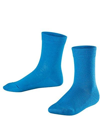 FALKE Kinder Socken Family, 94prozent Baumwolle, 1 Paar, Blau (Regatta 6160), Größe: 23-26