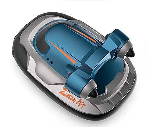 ADSVMEL Pequeño Barco de Control Remoto eléctrico inalámbrico Recargable para niños Modelo de simulación submarina al Aire Libre Lago Piscina Estanque Barco de Juguete Impermeable